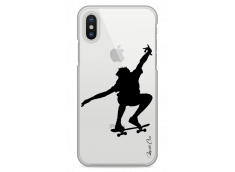 Coque iPhone X Just skate on