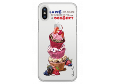Coque iPhone X Le Dessert En Premier