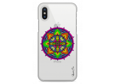 Coque iPhone X Color Mandala