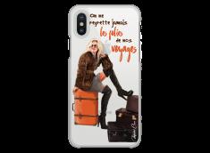 Coque iPhone X Les Folies De Nos Voyages