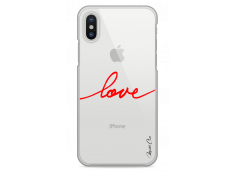 Coque iPhone- X Red Love