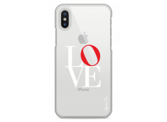 Coque iPhone X Love