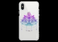 Coque iPhone X Beautiful Flower Mandala