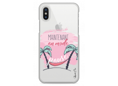 Coque iPhone X En mode pause
