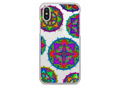Coque iPhone X Multi Mandala
