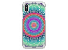 Coque iPhone X Multicolor Galaxy Mandala