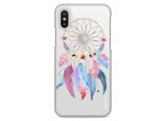 Coque iPhone X  Multicolor watercolor floral dreamcatcher