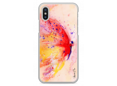 Coque iPhone X Lovely watercolor butterfly