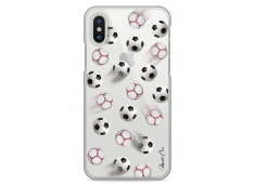 Coque iPhone X Passion pour le foot