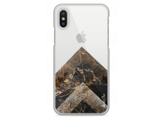 Coque iPhone X Pyramid Marble