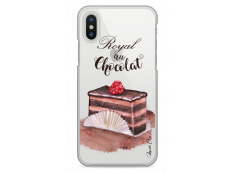 Coque iPhone X Royal au chocolat