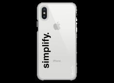 Coque iPhone X Simplify