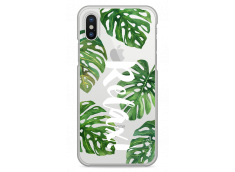 Coque iPhone X Tropical watercolor design Relax