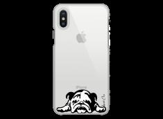 Coque iPhone X Dog tu restes mon ami