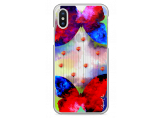 Coque iPhone X Gradient design butterflies