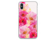 Coque iPhone X Watercolor bouquet flowers