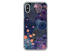 Coque iPhone X Watercolor Flowers
