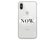 Coque iPhone X Yesterday Now Tomorrow