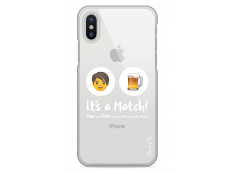 Coque iPhone X You and beer It's a match