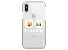 Coque iPhone X You and drink It's a match