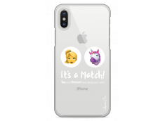 Coque iPhone X You and unicorn It's a match