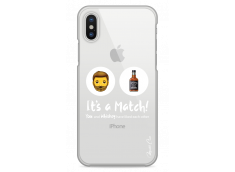 Coque iPhone X You and whiskey It's a match