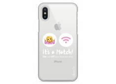 Coque iPhone X You and Wifi It's a Match
