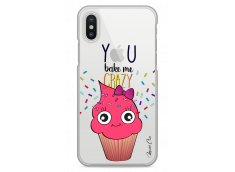 Coque iPhone X You bake me crazy