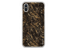 Coque iPhone X Classic Brown Marble