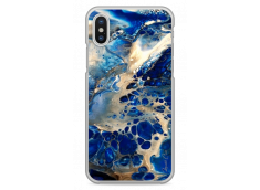 Coque iPhone X Ocean Marble