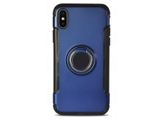 Coque iPhone X Ring Case-Bleu