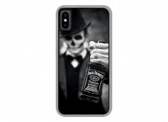 Coque iPhone X Jack Skull