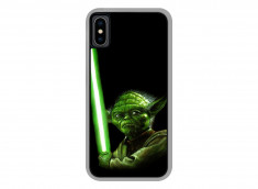 Coque iPhone X Yoda
