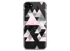 Coque iPhone 7Plus/8Plus Geometric Triangle Marble