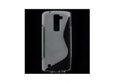 Coque LG K8 Silicone Grip-Translucide