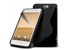 Coque HTC One A9 Silicone Grip-Noir