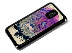 Coque Samsung Galaxy S5 Mini Lion Face