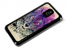 Coque Samsung Galaxy S5 Mini Wolf Face