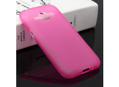 Coque Samsung Galaxy J1 Silicone Opaque-Rose