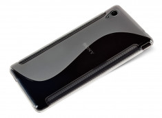 Coque Sony Xperia Z5 Premium Silicone Grip-Translucide