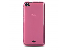 Coque Wiko Jimmy Regular Flex-rose