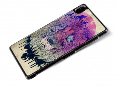 Coque Sony Xperia Z3 Lion Face