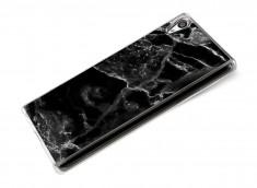 Coque Sony Xpéria Z5 Effet Marbre- Noir