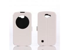 Etui Folio LG K4-Blanc