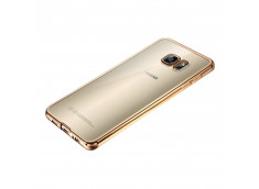 Coque Samsung Galaxy A3 2017 Gold Flex