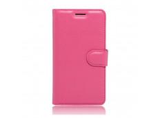 Etui Microsoft Lumia 950 XL Leather Wallet- Rose
