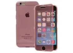 Etui iPhone 6 Plus/6S Plus Tactile Clear Flex-Rose
