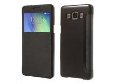 Etui Samsung Galaxy A3 Flip Cover-Noir