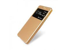 Etui Samsung Galaxy A3 Flip Cover-Champagne