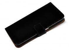 Etui Sony Xperia XA Leather Wallet-Noir